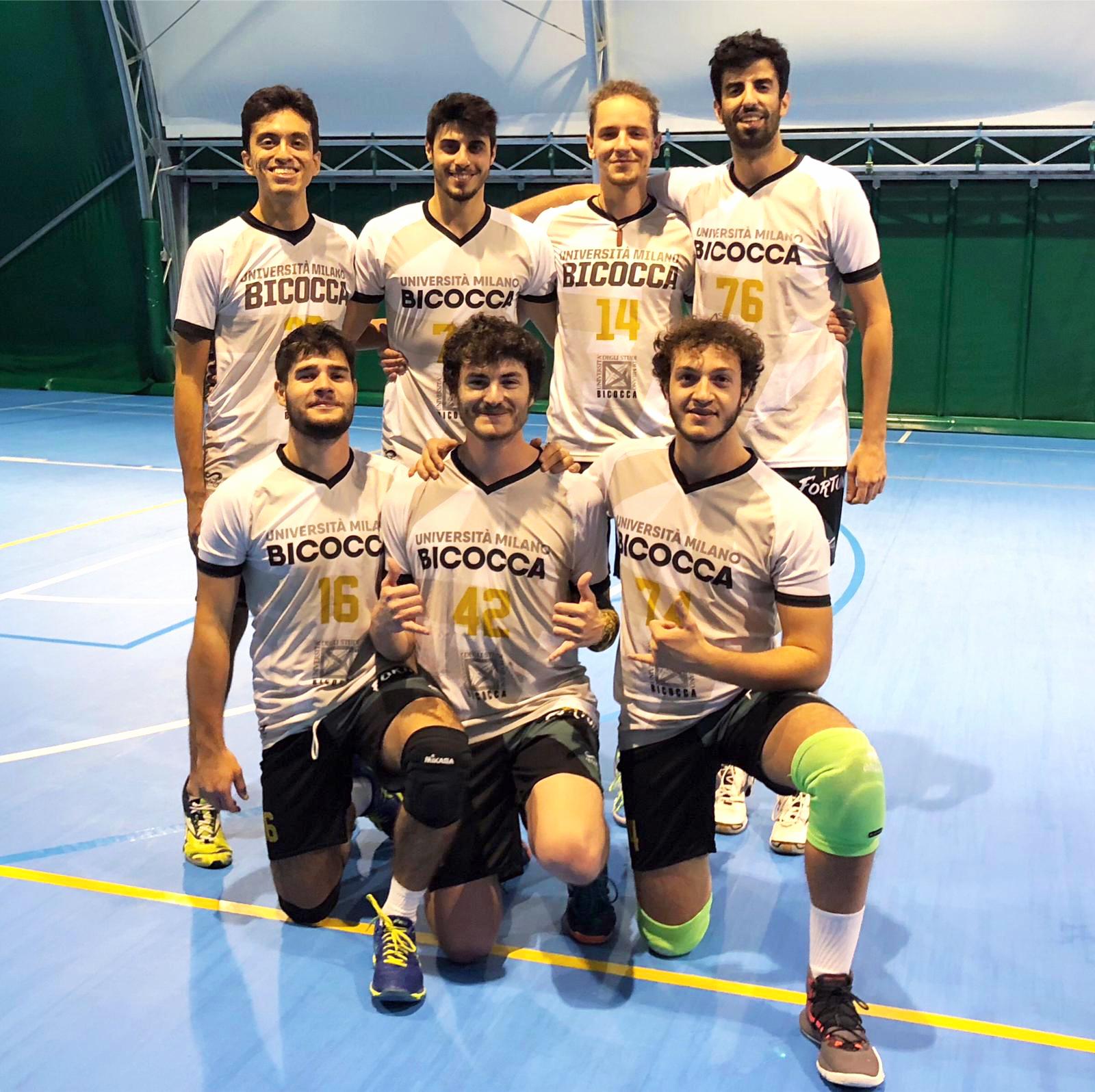Volley maschile federale Bicocca 2018/19