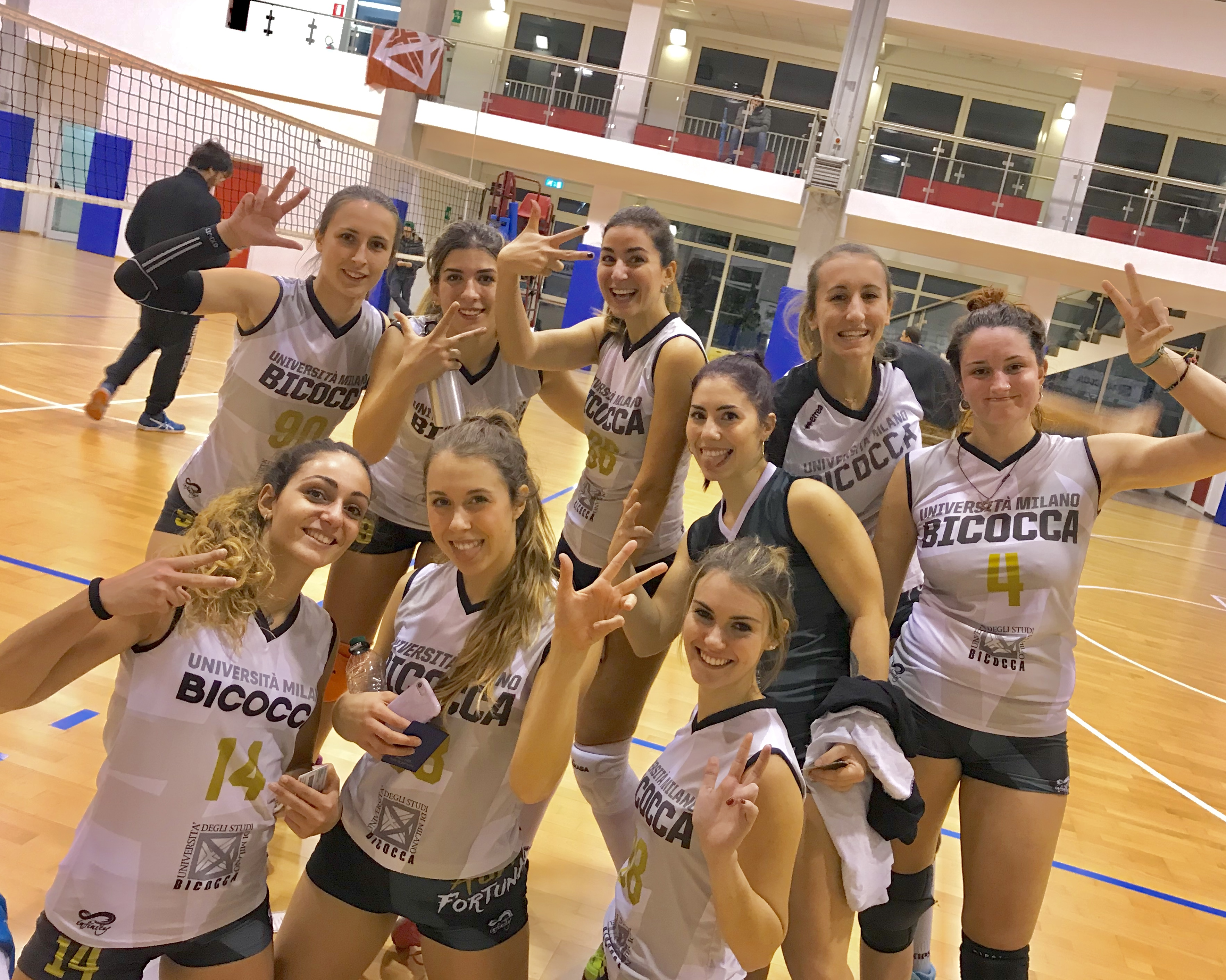 CUS Bicocca - Volley universitario femminile 2017/18