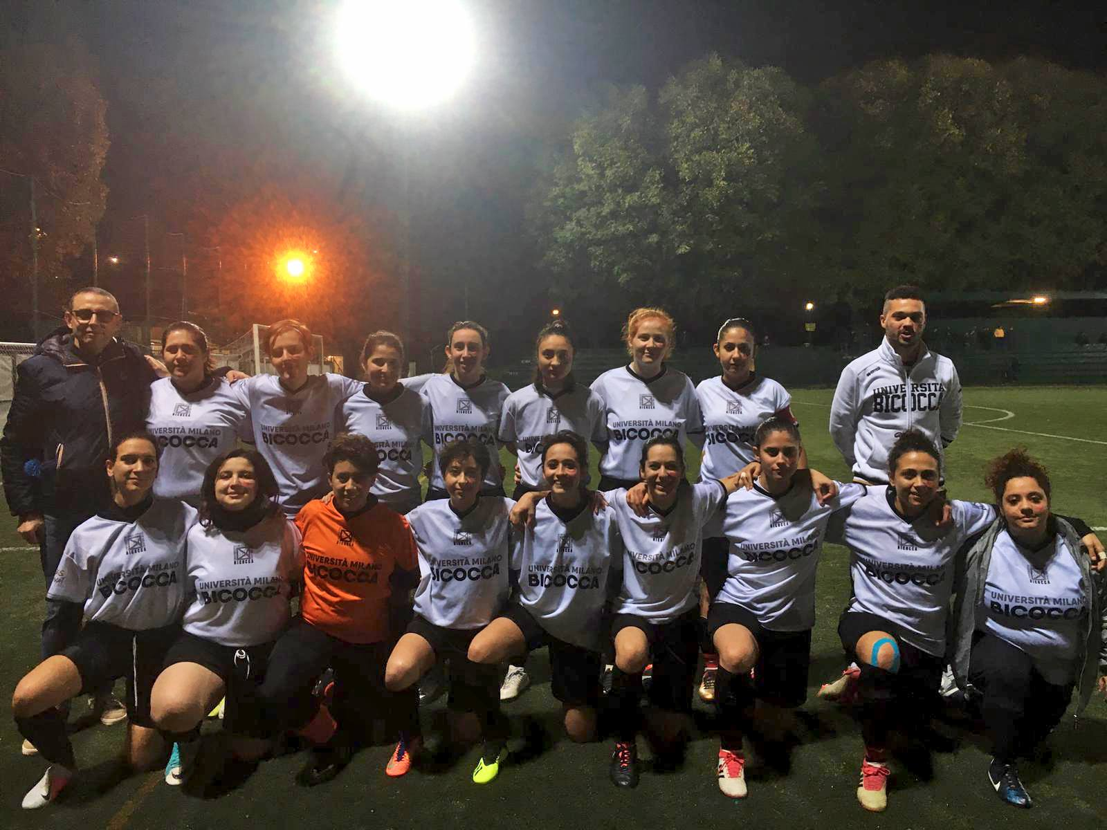 Calcio femminile federale 2018/19 - CUS Bicocca