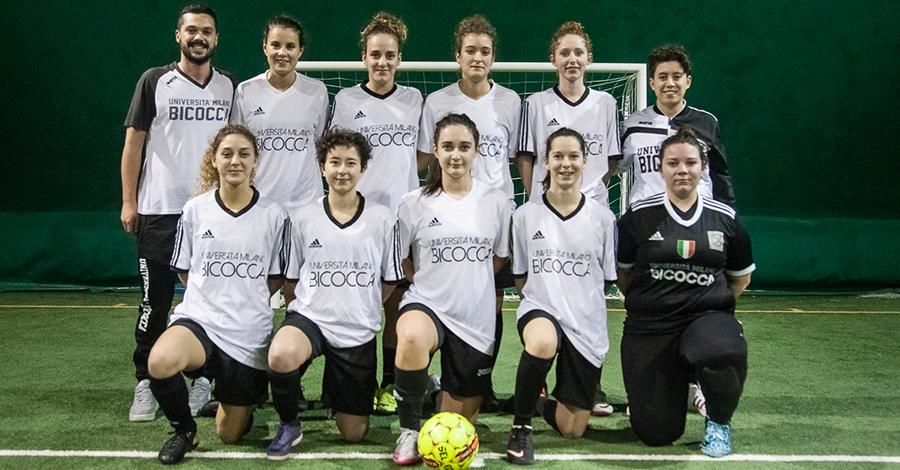 Calcio a 5 femminile universitario Bicocca 2018/19