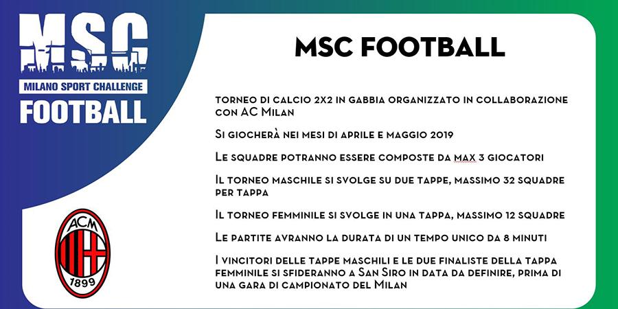 Milano Sport Challenge (MSC) - Calcio