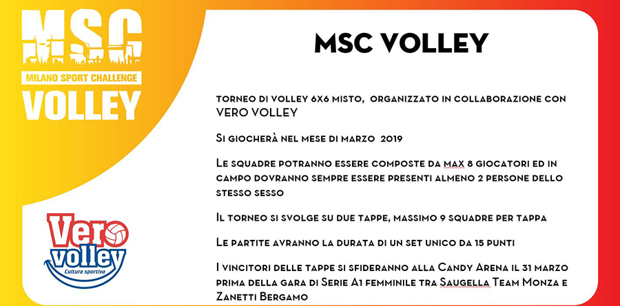 Milano Sport Challenge (MSC) - Volley