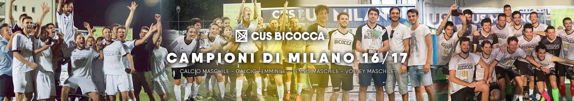 CUS Bicocca - Campioni di Milano 2016/17
