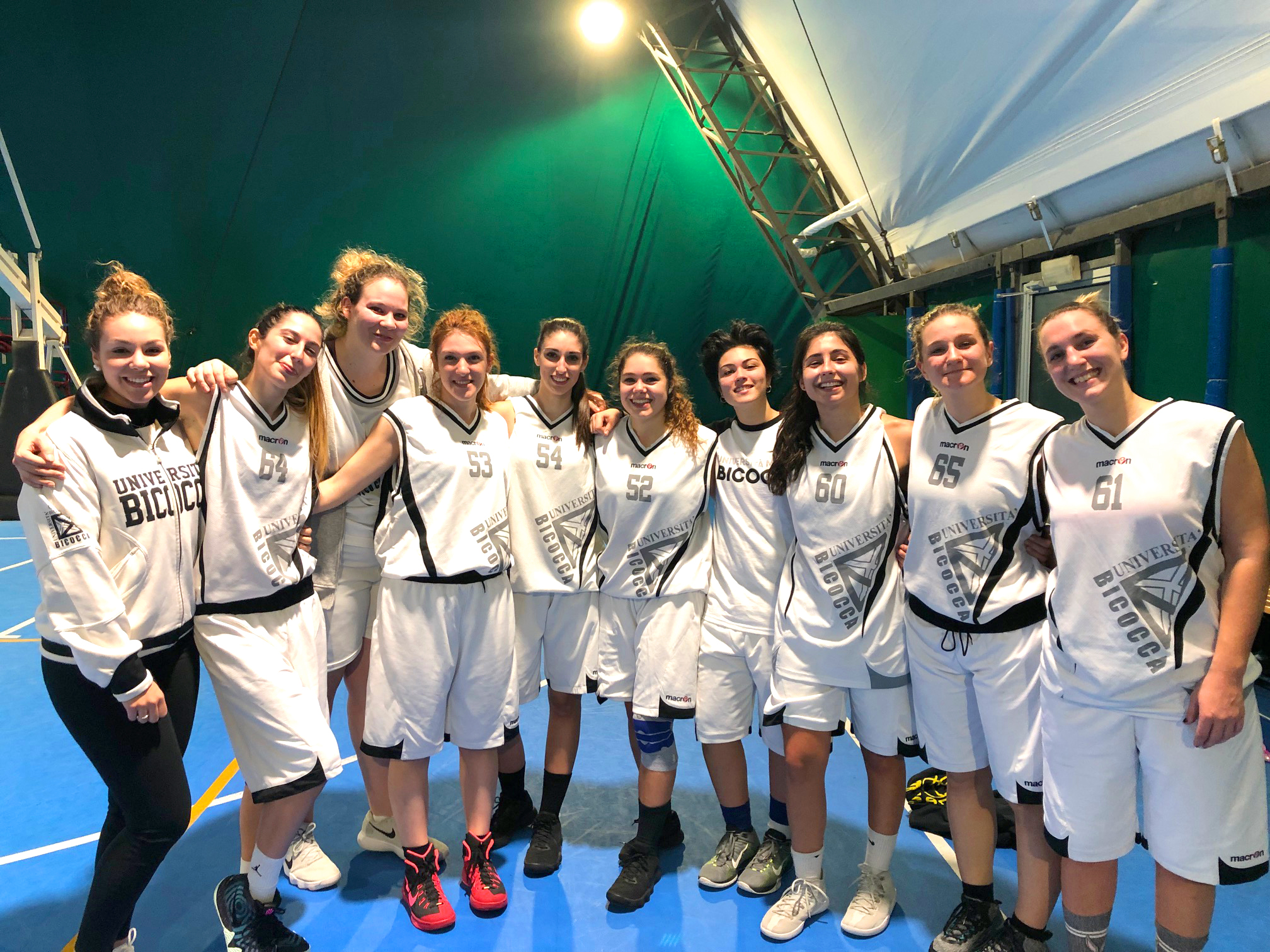 Basket femminile universitario 2018/19 - CUS Bicocca
