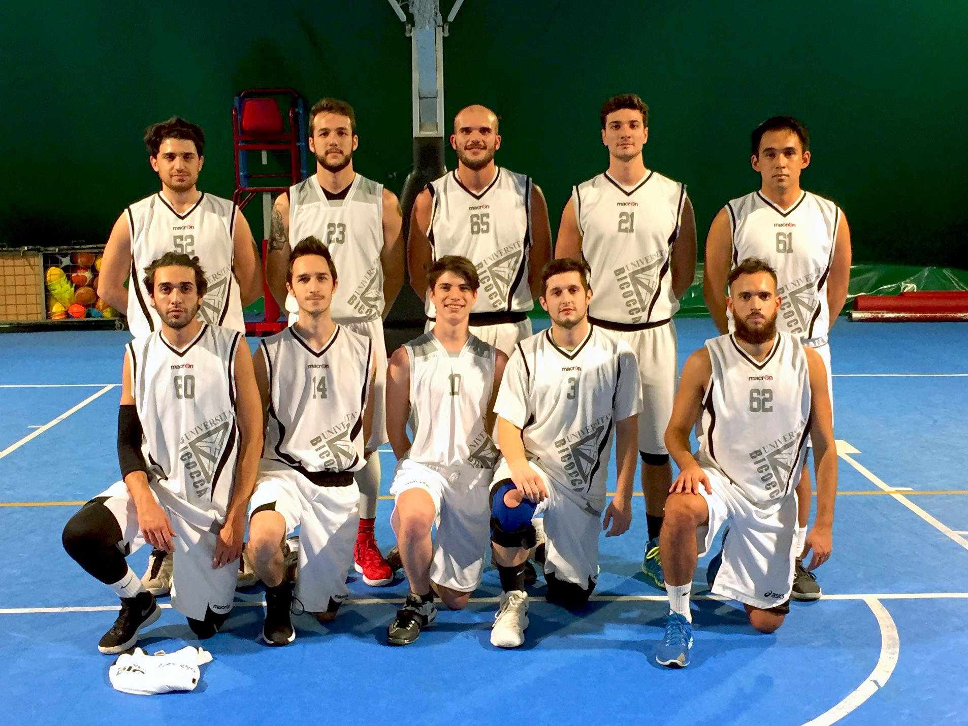 CUS Bicocca • basket maschile 2018/19 • universitario