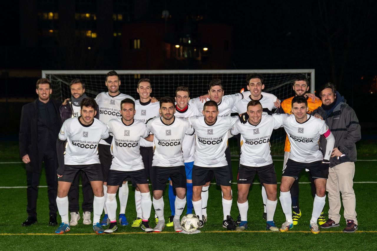 Calcio maschile universitario 2018/19 - CUS Bicocca