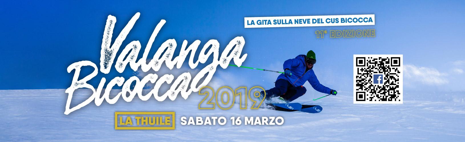 Valanga Bicocca 2019 - CUS Bicocca - evento Facebook