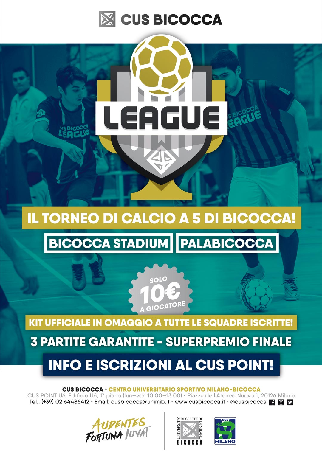 CUS Bicocca League 2019