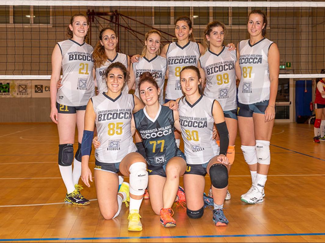 Volley femminile universitario