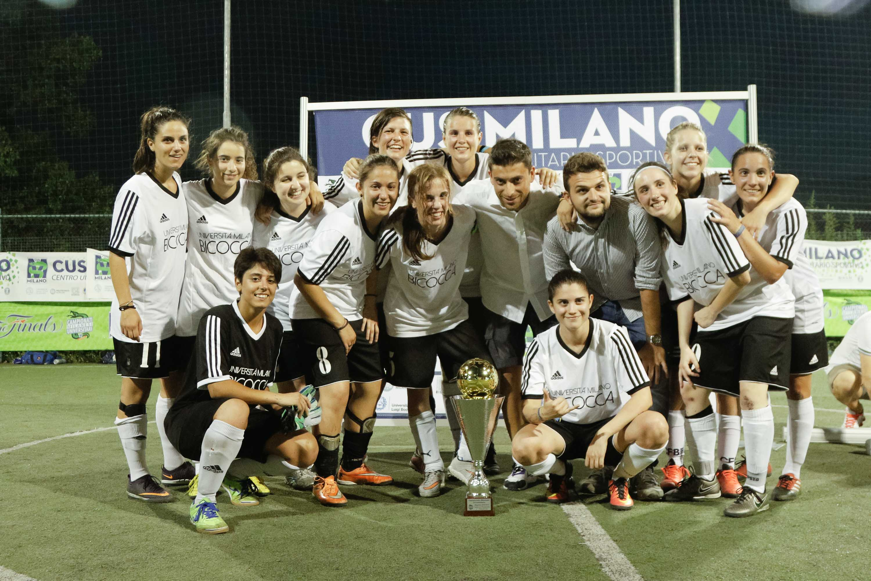 CUS Bicocca • calcio a 5 femminile 2016/17 • universitario • Campionesse di Milano