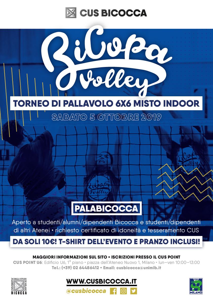 BiCopa Volley 2019 • torneo pallavolo indoor Bicocca