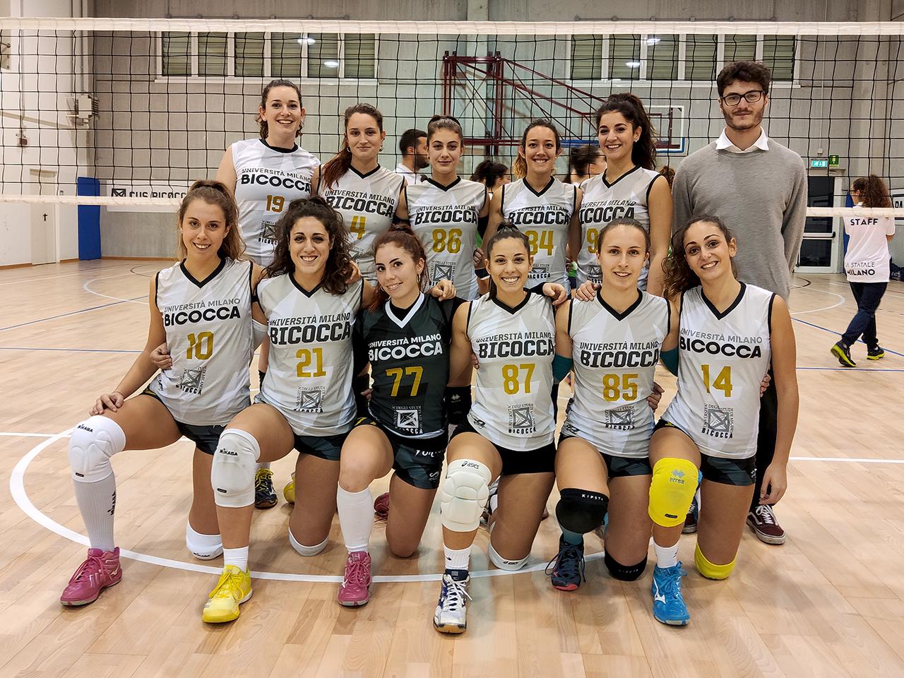 CUS Bicocca • volley femminile 2019/20 • universitario