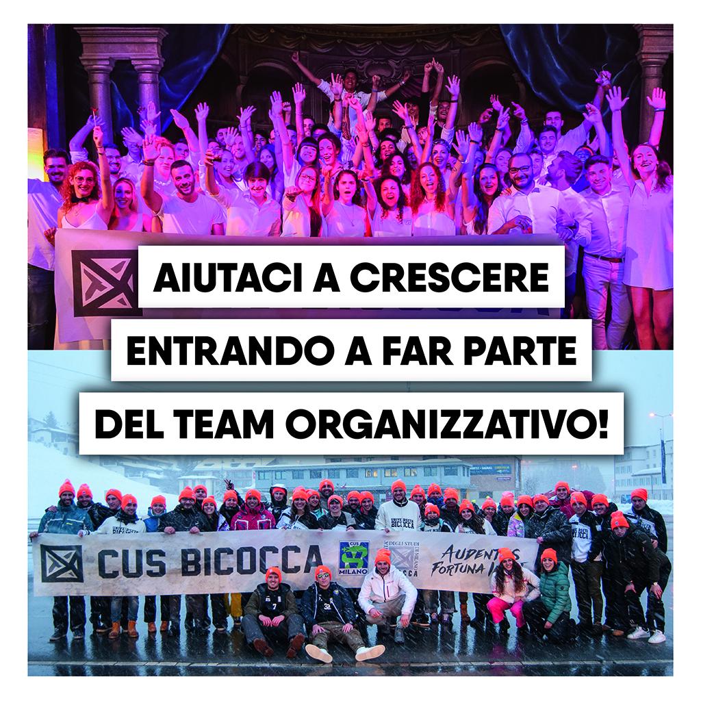 Collabora con noi! • CUS Bicocca