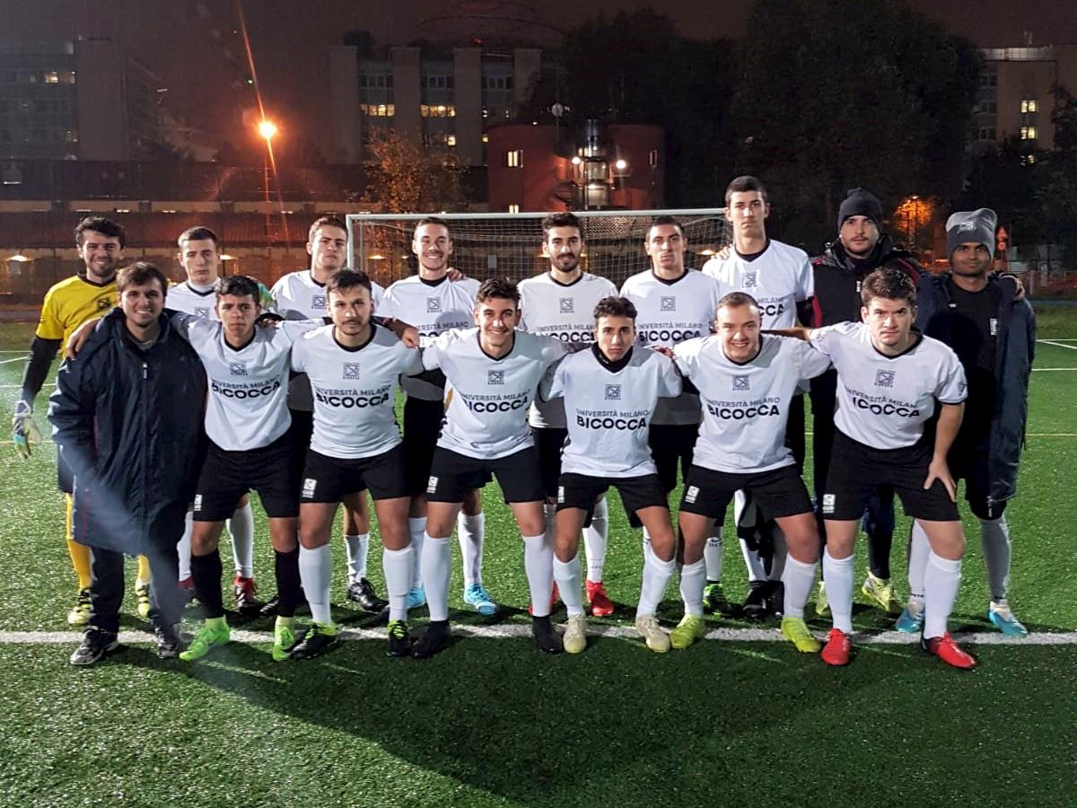 CUS Bicocca • calcio maschile 2019/20 • universitario