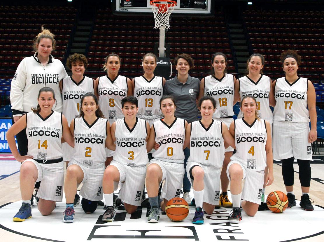 CUS Bicocca • basket femminile 2019/20 • universitario