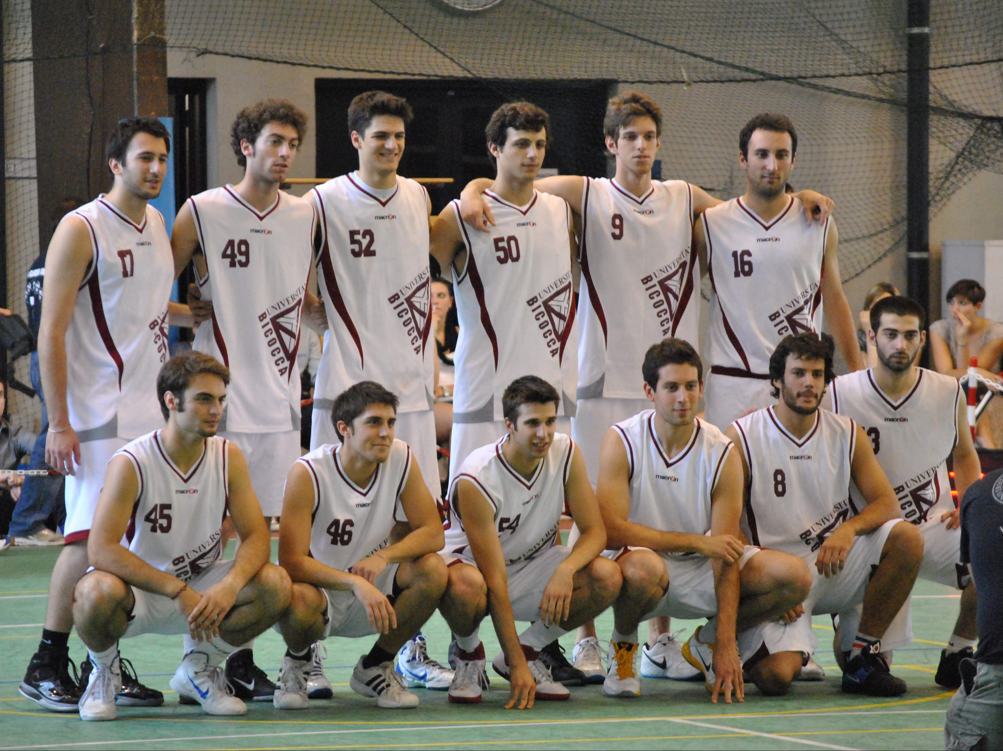 Basket maschile universitario