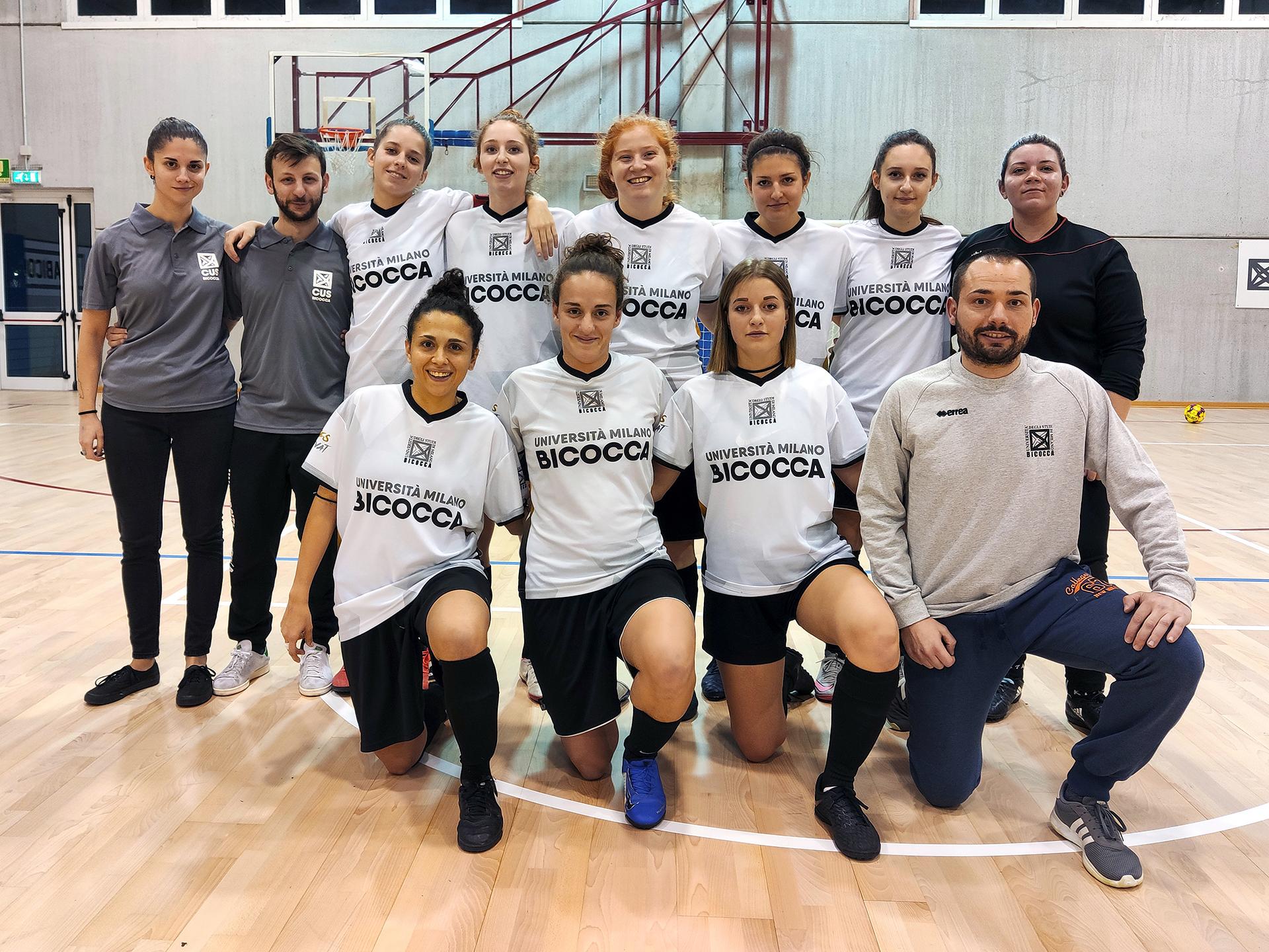 CUS Bicocca • calcio a 5 femminile 2019/20 • universitario