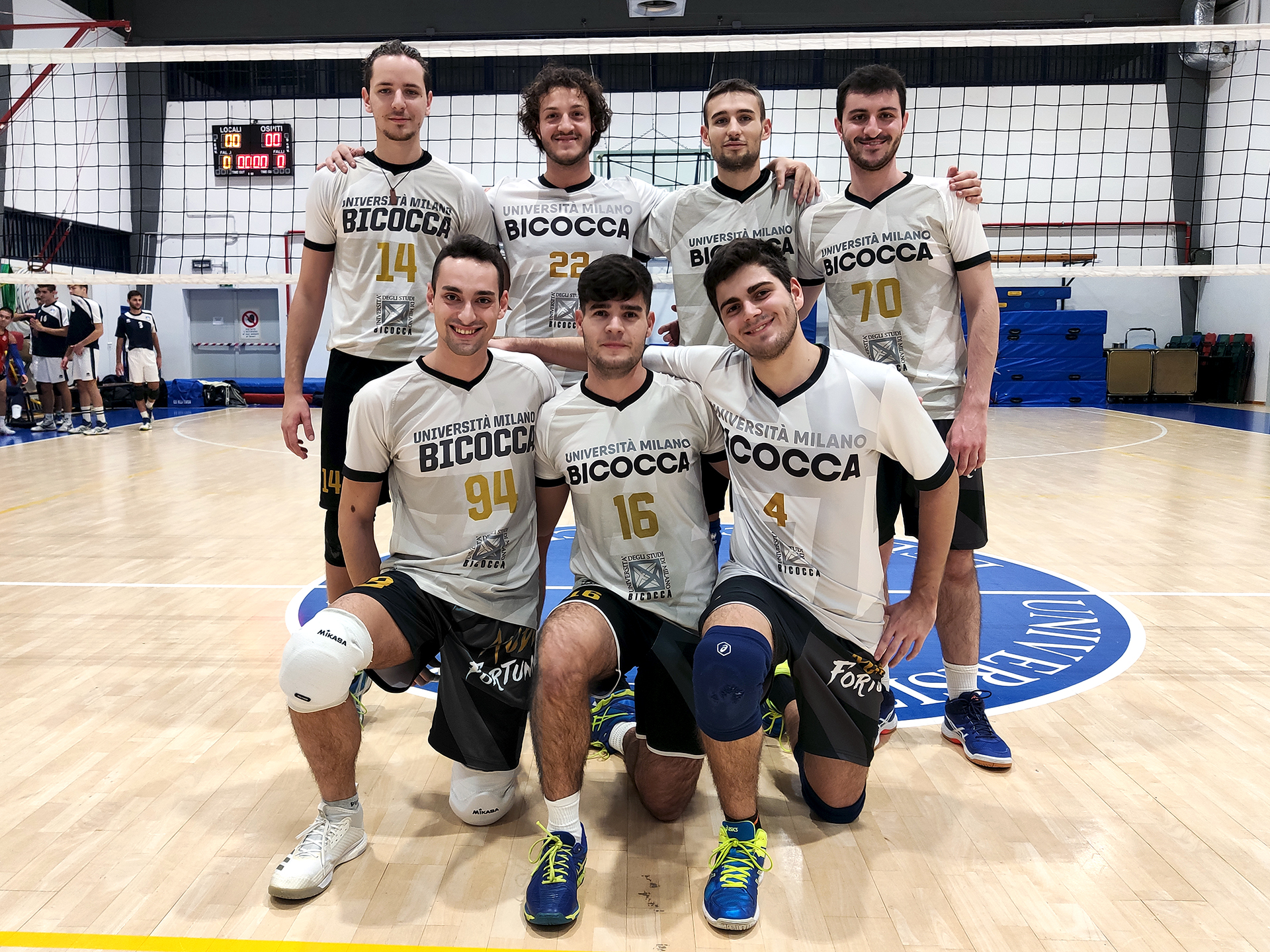 CUS Bicocca • volley maschile 2019/20 • universitario