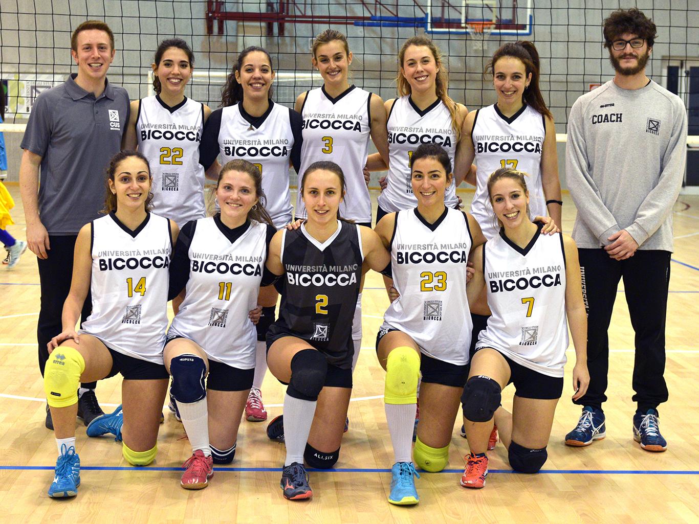 CUS Bicocca • volley femminile 2019/20 • federale