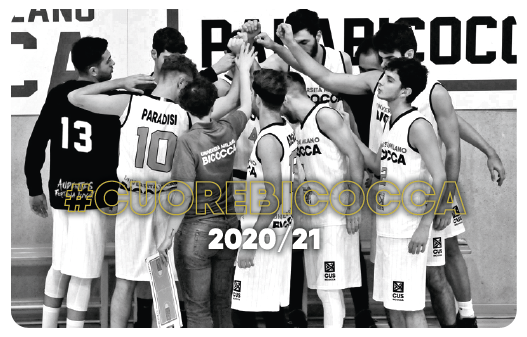 CUS Bicocca • basket maschile 2019/20 • universitario