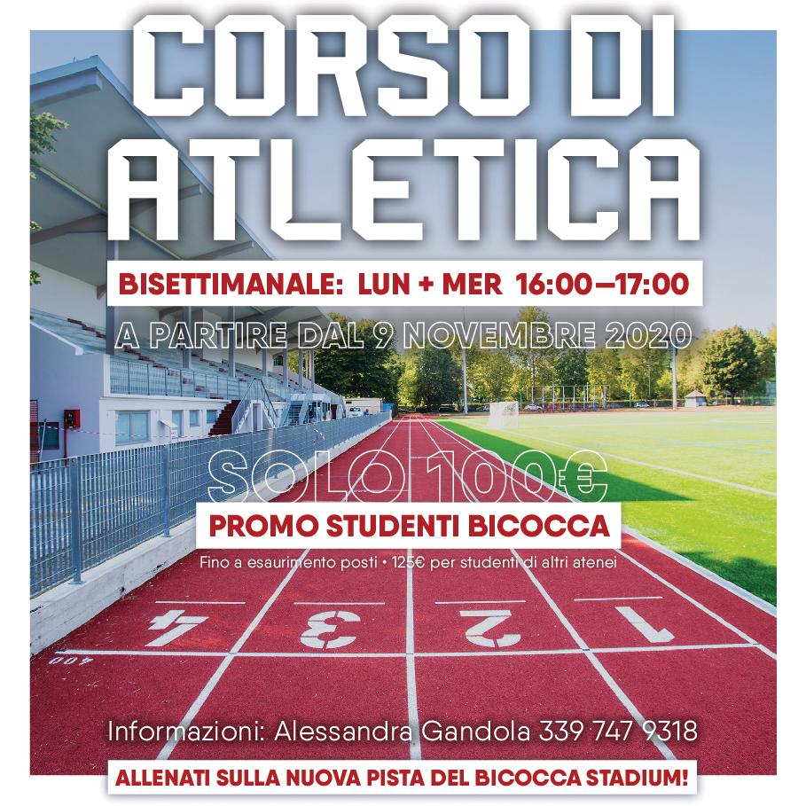Corso di Atletica 2020/21 • Bicocca Stadium • CUS Bicocca