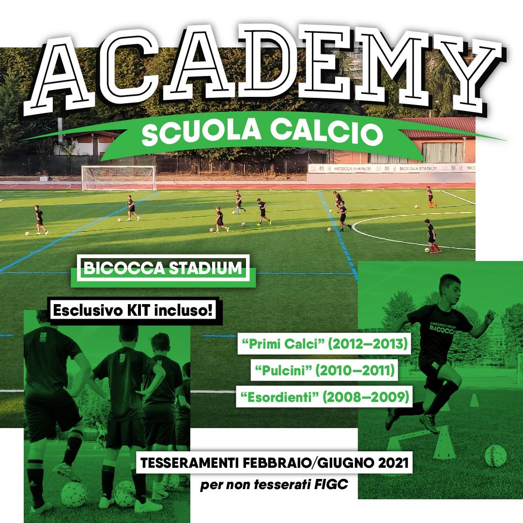 CUS Bicocca Academy • Scuola Calcio