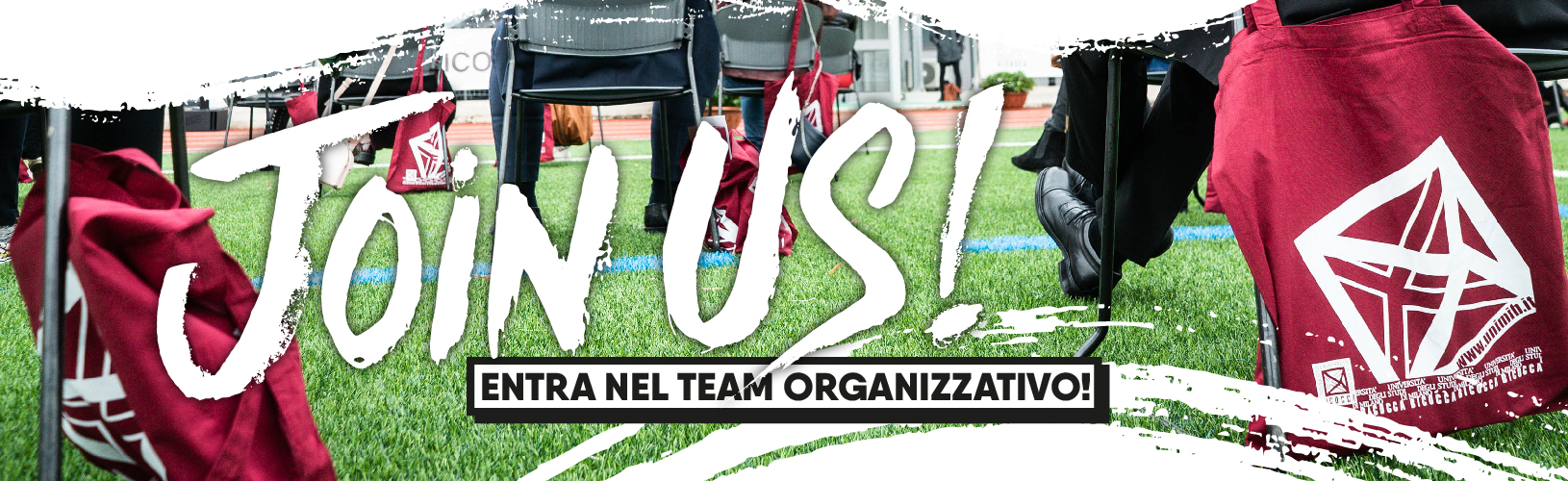 Join Us! • CUS Bicocca