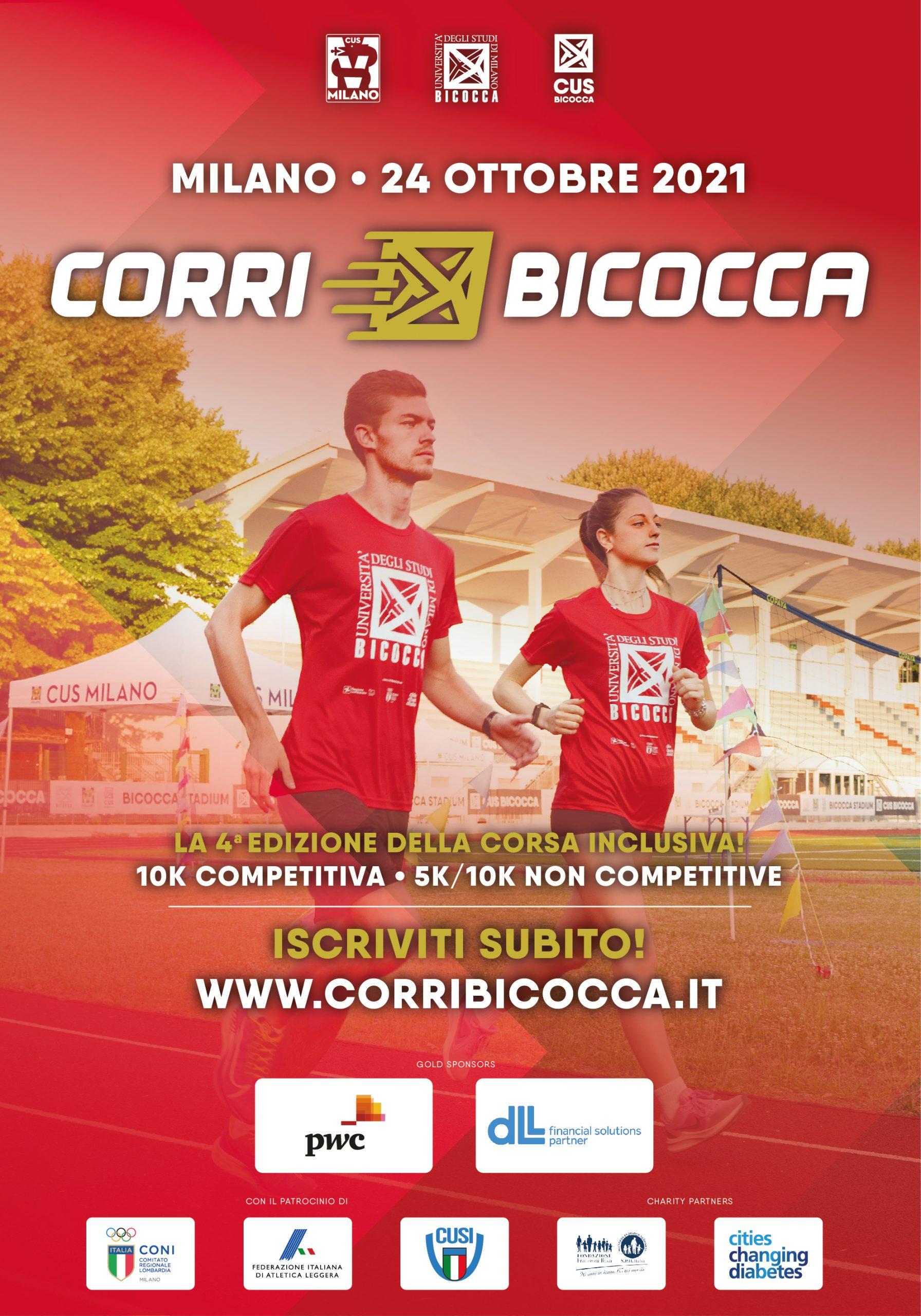 CorriBicocca 2021: la quarta edizione il 24 ottobre!